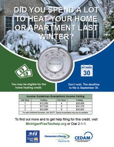 Important Tax Credits - Michigan Free Tax Help